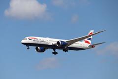 British Airways G-ZBKN LHR 05/08/19 (ethana23) Tags: planes planespotting aviation avgeek aeroplane aircraft airplane boeing 787 7879 ba britishairways speedbird