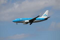 KLM PH-BGG LHR 05/08/19 (ethana23) Tags: planes planespotting aviation avgeek aeroplane aircraft airplane boeing 737 737700 klm
