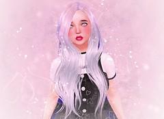 Magika-FightSleep (SilentRaindrop) Tags: magika hair secondlife sl virtualworld avatar mesh bento kawaii