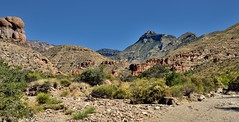 A Wide Angle View While on the Blue Creek Canyon Trail (Big Bend National Park)
