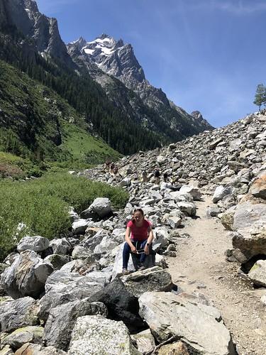McKenzie Hiking in the Grand Tetons