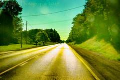 That Lonesome Road #3 (HSS) (13skies) Tags: road postprocessing lonelyroad highway postwork trees effect hss sunday topaz slidersunday software happyslidersunday sony