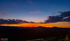 Pisgah Ridge sunset-2 (BillRhodesPhoto) Tags: billrhodes asheville nc sunset mountains clouds