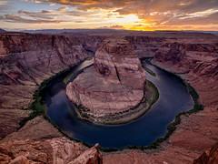 Horseshoe Bend (W.R.Sircy) Tags: horseshoebend nature river sunset page arizona