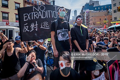 EM-190817-FreeHongKongRallyNYC-024 (Minister Erik McGregor) Tags: activism boycottmulan carrielam china chinatown chinese community counterprotest directaction erikmcgregor freehongkong hongkong ny4hk nyc newyork photography powertothepeople protest usa democracy demonstration detention extradition freedom law march news people photojournalism placard political politics prison protesters rally repression signs streetphotography 9172258963 erikrivashotmailcom ©erikmcgregor