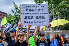 EM-190817-FreeHongKongRallyNYC-009 (Minister Erik McGregor) Tags: activism boycottmulan carrielam china chinatown chinese community counterprotest directaction erikmcgregor freehongkong hongkong ny4hk nyc newyork photography powertothepeople protest usa democracy demonstration detention extradition freedom law march news people photojournalism placard political politics prison protesters rally repression signs streetphotography 9172258963 erikrivashotmailcom ©erikmcgregor