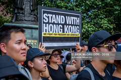 EM-190817-FreeHongKongRallyNYC-027 (Minister Erik McGregor) Tags: activism boycottmulan carrielam china chinatown chinese community counterprotest directaction erikmcgregor freehongkong hongkong ny4hk nyc newyork photography powertothepeople protest usa democracy demonstration detention extradition freedom law march news people photojournalism placard political politics prison protesters rally repression signs streetphotography 9172258963 erikrivashotmailcom ©erikmcgregor