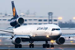 D-ALCD (PJ Reading) Tags: airline airplane airport travel transport transportation aircraft aeroplane aviate aviation plane fly flying flight airliner jet jetplane jetcraft eddf europe fra european germany german dalcd lh lufthansa lufty takeoff depart departure leave leaving cargo freight goods airfreight aircargo md11 md11f