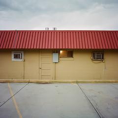 Motel (darylovejr) Tags: hasselblad 201f 50mm 28 f kodak mediumformat film 6x6 expired