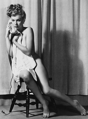 Marilyn Monroe fotografiada por Earl Moran