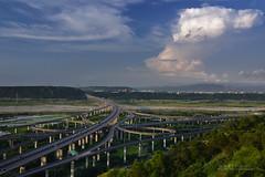 砧狀雲 (風景獵人) Tags: taiwan 台灣 風景 風景獵人 landscape taichung 台中 清水 中港系統 交流道 freeway 高速公路 國道 cloud structure