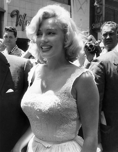 Marilyn Monroe, Nueva York, 1957