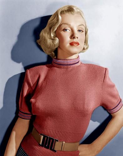 """Marilyn Monroe en """"Vuelta a Casa"""" (Home Town Story), 1951"""