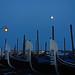 full moon / blue hour - Venice - April 2019
