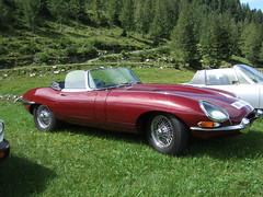JAGUAR E-Type (John Steam) Tags: sportwagen jaguar etype oldtimer oldtimertreffen vintage meeting christlalm trattberg sankt koloman salzburg austria 2019