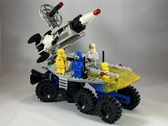 2019-229 - Spacey Saturday (Steve Schar) Tags: 2019 wisconsin sunprairie iphone iphonexs project365 lego minifigure benny spaceship rocket rocketlauncher space