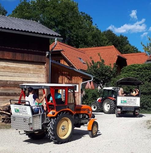 Traktorausflug zur Jausenstation