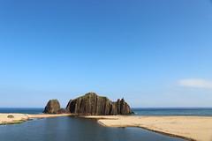 Blue scape (Teruhide Tomori) Tags: landscape rock beach sea seashore coast tateiwa kyoto tango japan 丹後半島 立岩 日本 海岸 風景 shore 京都 japon taiza 間人 tangopeninsula 京丹後 丹後町 happyplanet asiafavorites