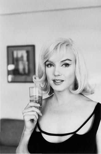Marilyn Monroe, fotografiada por Henry Cartier Bresson, 1961
