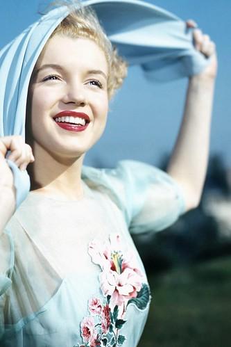 Marilyn Monroe fotografiada por Earl Theisen, 1947
