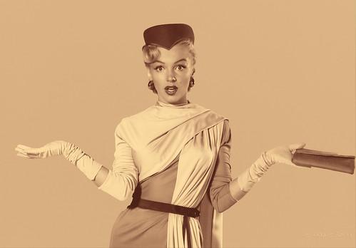Marilyn Monroe fotografiada por John Florea