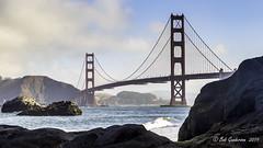 Golden Gate Bridge (Bob Gunderson) Tags: bakerbeach california northerncalifornia presidio sanfrancisco goldengatebridge sanfranciscobay