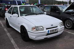 Ford Escort RS Turbo E119DFC (Andrew 2.8i) Tags: swccc stadium city cardiff show voitures voiture autos auto cars car classics classic welsh wales uk kingdom united euro european hatch hot hatchback fordofeurope mark 4 iv mk mk4 turbo rs escort ford