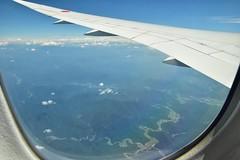 岐阜県関市洞戸栗原  256号線 81号線 (yuki_alm_misa) Tags: plane aeroplane airplane boeing b7878 飛行機 aircraft bridge 航空機 b787 b7878dreamliner