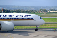 Singapore Airlines | 9V-SHC | Airbus A350 | YPAD (adelaidefire) Tags: adelaide airport south australia ypad singapore airlines 9vshc airbus a350