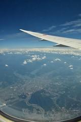 美濃加茂市+木曽川 (yuki_alm_misa) Tags: plane aeroplane airplane boeing b7878 飛行機 aircraft bridge 航空機 b787 b7878dreamliner