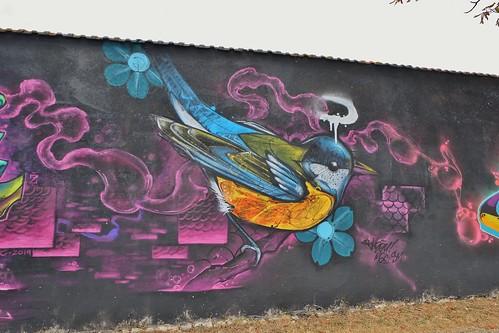 Graffiti La Rochelle, La Pallice