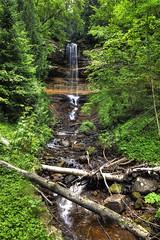 Munising Falls, Michigan (klauslang99) Tags: klauslang falls michigan nature landscape water waterfall munising