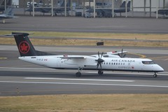 C-GYJZ (LAXSPOTTER97) Tags: air canada express bombardier dash8 dhc8 q400 cgyjz cn 4524 airport airplane aviation kpdx