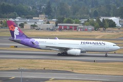 N392HA (LAXSPOTTER97) Tags: hawaiian airlines airbus a330 a330200 n392ha cn 1404 hikianalia airport airplane aviation kpdx