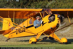 G-NCUB | Piper J3C-65 Cub | Private (james.ronayne) Tags: gncub piper j3c65 cub private aeroplane airplane plane aircraft general aviation little gransden egmj children in need airshow