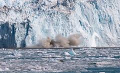 Splash! (dmunro100) Tags: iceberg glacier greenland calving