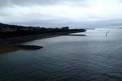 Depuis le pont qui mène à l'île de Sesoko (8pl) Tags: eau côte plage okinawa sesoko japon mer vaguelettes calme contrastes