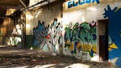 Glock (ostplp) Tags: exploration vintage ancien abandon abandonné électricité usine industriel industrie friche oublié forgotten decay urbex acierie steel mill graff graffiti tag