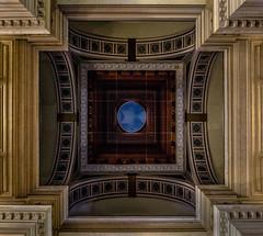 The dome (jefvandenhoute) Tags: belgium belgië belgique brussel brussels bruxelles light shapes geometric justitiepaleis