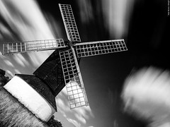 Pitstone Windmill (Biff_Brown) Tags: windmill pitstone buckinghamshire monochrome blackandwhite affinityphoto panasonicg6 samyang samyang12mmf20ncscs longexposure