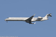 EI-GEH - 2009 build Bombardier CRJ900ER NG, operated by CityJet for Brussels Airlines inbound to Manchester (egcc) Tags: 15221 bombardier brusselsairlines crj crj900 crj900ng canadair cityjet egcc eigeh lightroom man manchester oykfd ringway