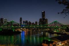 Story Bridge (ella_raymond) Tags: fujifilm xt3 16mm fujinon bridge city river xf16mm long exposure xf16mmf14