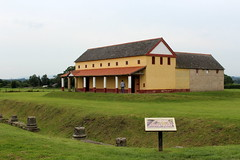 The Roman villa at Wroxeter (Davydutchy) Tags: truk tatra register uk annual rally wroxeter roman excavations replica villa shropshire august 2019