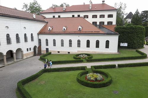 Innsbruck, Schloss Ambras am 31.07.2019