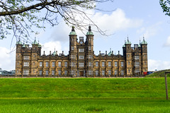 Donaldson's (Francisco Anzola) Tags: uk unitedkingdom scotland edinburgh architecture palace park tree
