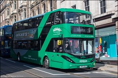 Nottingham City Transport YP17UFB (Mike McNiven) Tags: nottinghamcitytransport nottingham marketstreet edwalton alexanderdennis enviro400 enviro400city cbg biogasbus gasbus scania