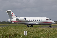 Execaire Challenger 605 C-GITC (birrlad) Tags: shannon snn international airport ireland aircraft aviation airplane airplanes bizjet private passenger jet taxi taxiway takeoff departing departure runway execaire cgitc bombardier cl6002b16 challenger 605 cl60