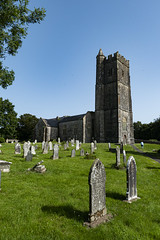 Photo of St Mary's Carew, Wales.