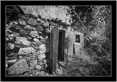 Abandoned, Isla de La Palma, Canary Islands (Bartonio) Tags: bw canaryislands ir islascanarias lapalma sonya7ir blanconegro infrared laowa1018mm45 modified abandoned abandonado