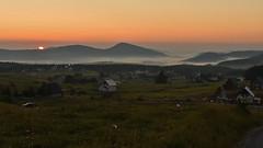 Last dreams (Branislav Cernic) Tags: sunrise dawn morning sun mountain fog mist layers clouds valley meadow hills grassland village summer durmitor montenegro